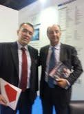 Eduardo Abadia- Gerente de la AEF y Juan Antonio Tormo - Director de AFBAL