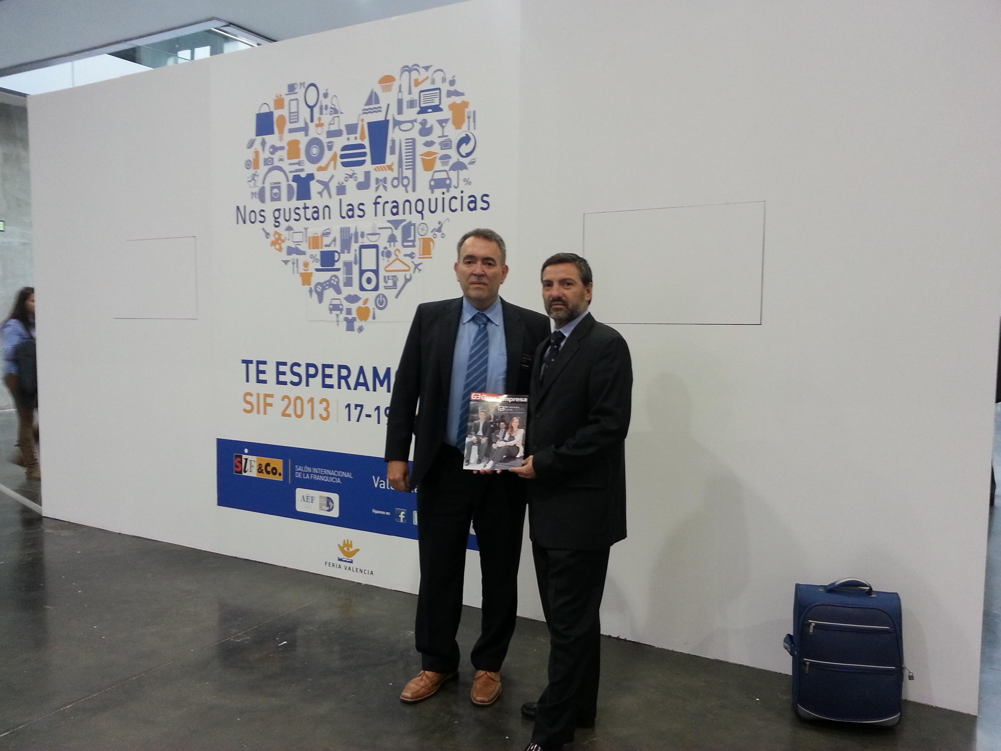 Javier Marin- Director Expansion ADK y Juan Antonio Tormo - Director de AFBAL