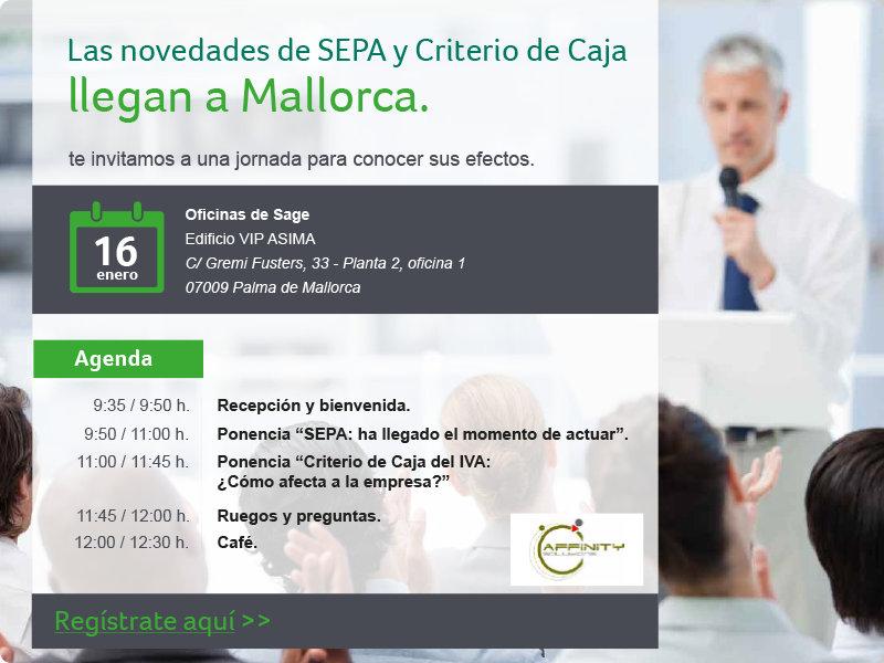 Panel de SAGE - Jornada SEPA y Criterio de Caja